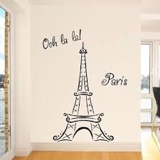 eiffel tower decorations wall designs eiffel tower wall decor la la ooh la