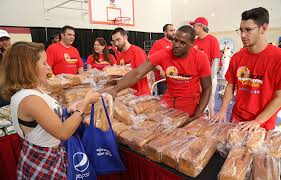 26th annual heat thanksgiving celebration photo gallery miami heat