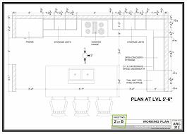 Kitchen Triangle Design With Island High Restaurant Kitchen Plan Dimensions Quality Threshold Kitchen
