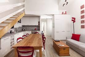 cucina sala pranzo salotto con cucina a vista e zona pranzo moderno sala da