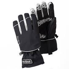 mtb waterproof dexshell ultra therm waterproof mtb cycling glove black with