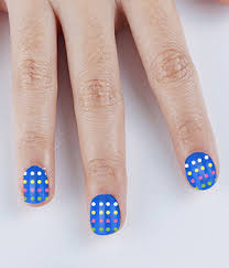 funky and colorful nail designs all kids will definitely love