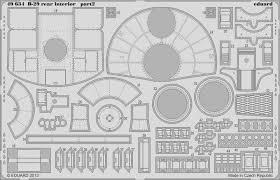 B 29 Interior B 29 Rear Interior 1 48 Eduard Store