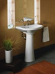 Rough In For Pedestal Sink 20 Fascinating Bathroom Pedestal Sinks Home Design Lover