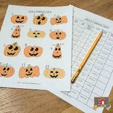 pumpkin sorting activity organized classroom
