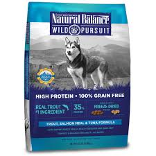 natural balance wild pursuit trout salmon u0026 tuna dog food petco