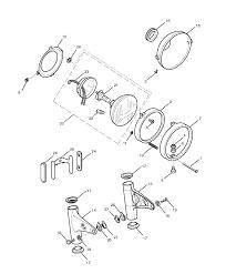 2014 triumph bonneville t100 headlight assembly parts best oem