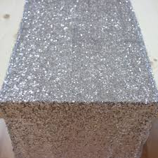 sequin table runner wholesale sequin table runner silver 403959 wholesale wedding supplies