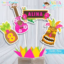 luau table centerpieces hawaiian luau centerpiece luau girl center hawaiian party