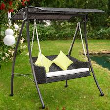 Childrens Swing Chair Rattan Outdoor 2 Seat Swing U2013 Ideal Home Show Shop