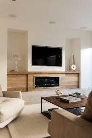 built in tv wall living room design fireplace built ins tv over modern living