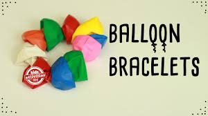 how to make a balloon bracelet recyclable kids craft youtube