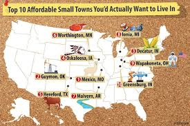 Most Affordable Places To Rent Top 10 Affordable Small Towns For 2017 Where You U0027d Want To Live
