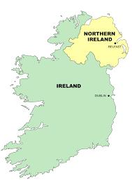 Dublin Ireland Map Simple Ireland Map Clip Art At Clker Com Vector Clip Art Online