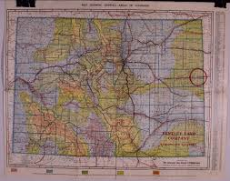 County Map Of Colorado Colorado Pocket Maps Clason Map Company And Other Publishing