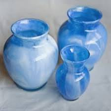 How To Paint Inside Glass Vases Revamping Clear Vases With A Little Paint Inside These Vases Are
