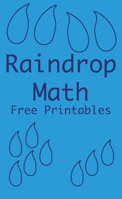raindrop math counting worksheets with free printable
