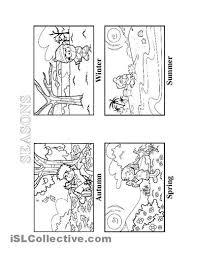 seasons worksheet for preschoolers seasons italian worksheets