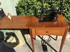 Sewing Machine With Table Antique Sewing Machine Table Ebay