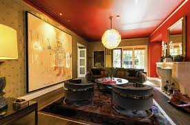 Denim Days Home Interior by Santa Monica Home Of Denim Executive Jerome Dahan Fuses Style Art