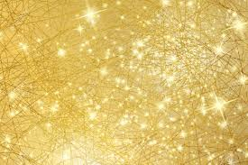 Gold Lights Sparkle Background Gold Texture With Stars Abstract Christmas