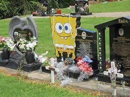 unique headstones spongebob this was a 24 year olds headstone sandyem flickr