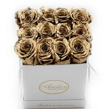 gold roses everlasting gold roses ariston flowers and boutique