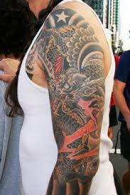 american flag sleeve tattoo style for guys photo 3 photo