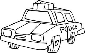 police car coloring pages for kids clipart library clip art