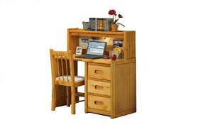 trendwood bunkhouse wrangler student desk with hutch 4785 4788