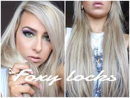 foxy extensions new foxy locks superior hair 230g latte