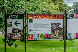 Botanic Gardens Hobart Travel Royal Tasmania Botanical Gardens Hobart