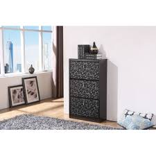 shoe cabinet with drawer black modern shoe cabinet 3 drawers stylish look self design glass