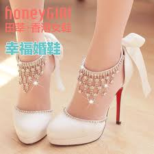 wedding shoes ankle hg popular high class cowhide ankle rhinestone