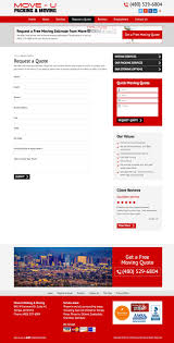 Moving Company Quotes Estimates by 4 Simple Moving Company Web Design Tips