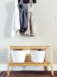 minimalist entryway bench for under 50 ikea molger bench in