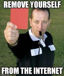 Meme Card Generator - red card meme generator imgflip