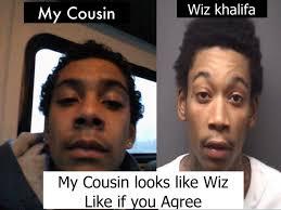 Cousin Meme - cousin wiz khalifa know your meme