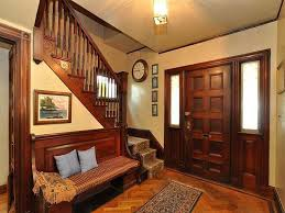 Old Home Decor Old World Interior With Warm Toned Walls And Gorgeous Dark Trim
