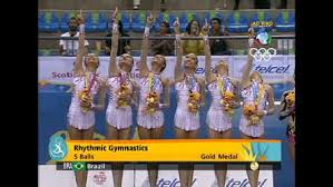 Brasil é ouro na ginástica rítmica - Pan Guadalajara 2011 - Rede ...