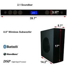 wireless 7 1 home theater system aliexpress com buy 2016 wireless home theater soundbar sound