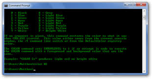 how to personalize the windows command prompt