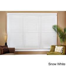 Intercrown Blinds Arlo Blinds Faux Wood 31 1 2 Inch Blinds Walmart Com