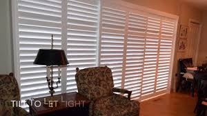 Sliding Shutters For Patio Doors Transform Your Sliding Glass Patio Door With Shutters