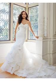 trumpet wedding dresses sweetheart chapel organza trumpet mermaid wedding gown ast0029