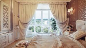 Silver Valance Bedroom Bedroom Curtain Ideas In Blue Theme With Long Rod Pocket