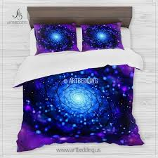 Space Bed Set Galaxy Bedding Set Galaxy Duvet Cover 3d Galaxy Bedding Artbedding