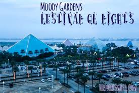 moody gardens festival of lights the s
