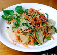 vietnamese pomelo salad thai basil dressings and salad