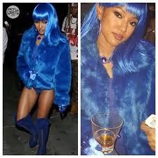 Lil Kim Halloween Costumes Karrueche Dressed Lil Kim Halloween Party U2013 Atlnightspots